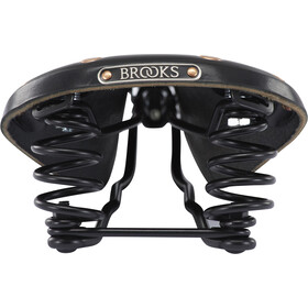 Brooks Flyer Special Saddle Made Of Corn Leather Herre black